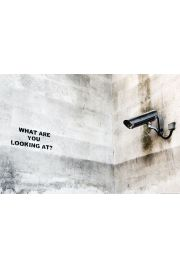Banksy Kamera Uliczna - plakat