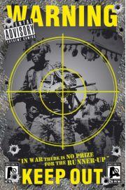 Zakaz Wst�pu - Strefa Wojny - plakat