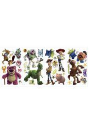 RoomMates, Toy Story 3 - świeci w ciemności - naklejki wielokrotnego użytku