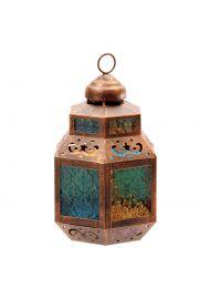 Lampion w marokańskim stylu kolorowy