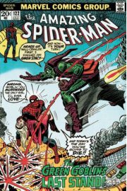 Marvel Retro Spiderman Kontra Green Goblin - plakat