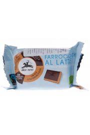 Herbatniki Orkiszowe Z Mleczn� Czekolad� Fair Trade Bio 28 G - Alce Nero