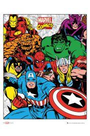 Marvel Komiks - Grupa - plakat