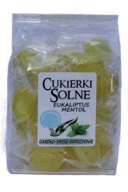 Cukierki solne o smaku eukaliptusowo mentolowym z solą himalajską, 100g