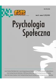 Psychologia Spo�eczna nr 2(25)/2013