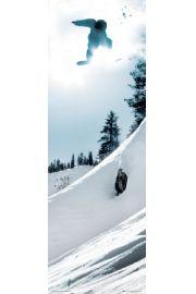 Snowboarder - G�ry - plakat