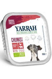 (Dla Psa) Kawałki Kurczaka Z Wołowiną Bezglutenowe Eko 150 G - Yarrah