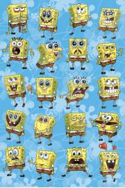 Spongebob Kanciastoporty Uczucia - plakat