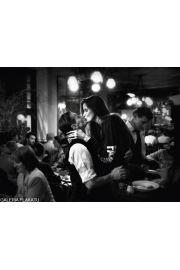 Romantyczny Paryż - Bistro Kiss - reprodukcja
