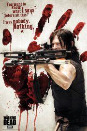 The Walking Dead Krwawa Ręka Daryla - plakat