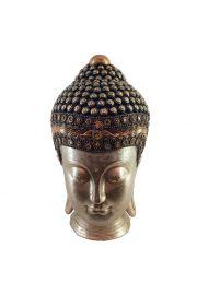 Złota głowa tajskiego buddy - duża