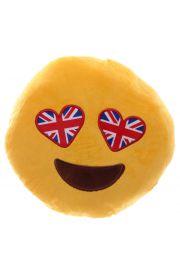 Poduszka emotikona - z flagami UK