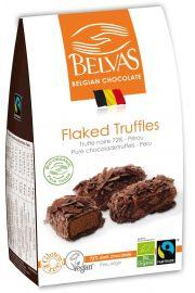 Belgijskie Czekoladki Truffle Gorzka Czekolada 72% Bezglutenowe Fair Trade Bio 100 G - Belvas