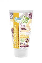 Born to Bio, Odżywka do włosów 2w1 ułatwiająca rozczesywanie,150ml