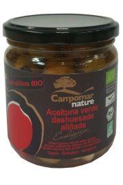 Oliwki Zielone Bez Pestki W Przyprawach Bio 350 G - Campomar Nature
