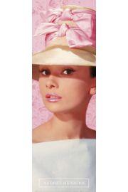 Audrey Hepburn R�owy Kapelusz - plakat