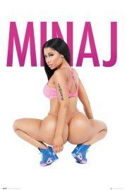 Nicki Minaj Squat - plakat