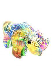 Zabawka nosorożec wypełniona piaskiem