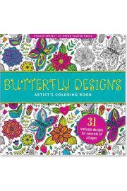Kolorowanka Artystyczna Wzory Motyli