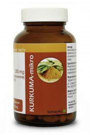 Kurkuma - Mikro (60 kapsułek) - zmikronizowana kurkuma - suplement diety