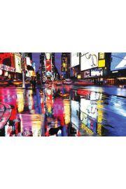 Nowy Jork Times Square Colours - plakat