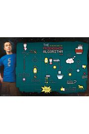The Big Bang Theory Algorytm Przyjaźni - plakat