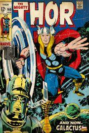 Thor retro - plakat