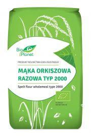Mąka Orkiszowa Razowa Typ 2000 Bio 500 G - Bio Planet