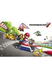 Nintendo Super Mario Kart Wyścig - plakat