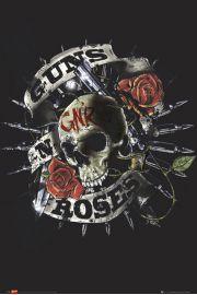Guns N' Roses Skull - plakat