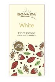 Czekolada Biała Bez Laktozy Bezglutenowa (Na Napoju Ryżowym) Bio 100 G - Bonvita