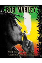 Bob Marley Zioło - plakat