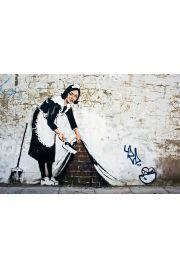 Banksy Pokojówka - plakat