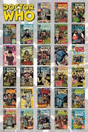 Doctor Who Okładki Komiksów - plakat