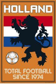 Holandia Football Totalny - Piłka Nożna - plakat