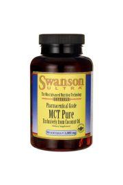 Swanson MCT pure ( z oleju z kokosa) 1000mg 90 kaps.