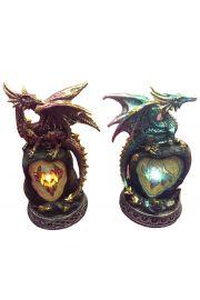 Smok Dark Legends - na skałach z kryształami LED