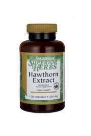 Swanson Głóg extract (Hawthorn Berry) 250mg 120 kaps.