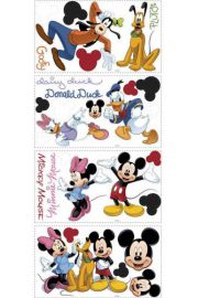RoomMates, Myszka Mickey i przyjaciele - naklejki wielokrotnego u�ytku