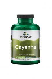 Swanson Cayenne (Pieprz Kajeński) 450mg 300 kaps.