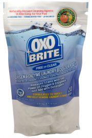 Earth Friendly Products Odplamiacz OXOBRITE Laudry Whitener, 20 kapsułek