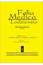 Folia Medica Lodziensia t. 37 z. 1/2010