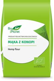 Mąka Z Konopi Bio 400 G - Bio Planet