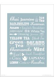 Tea Type - art print