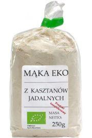 BIO mąka z kasztanów jadalnych bezglutenowa 250 g