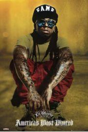 Lil Wayne Okulary - plakat