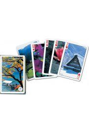 Karty do gry Piatnik 1 talia Cztery pory roku Japonii