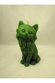 Zielony Kot - Świeca