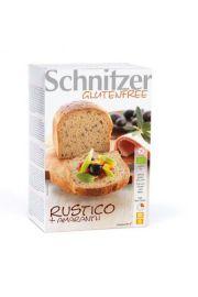 Chleb Rustico Bezglutenowy Bio 500 G - Schnitzer