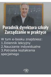 Poradnik dyrektora szko�y. Zarz�dzanie w praktyce, wydanie wrzesie�-pa�dziernik 2014 r.